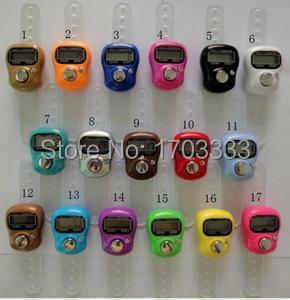 2016 New Arrive Muslim Finger Ring Tally Counter Digital Tasbeeh Tasbih DHL Fedex Free Shipping