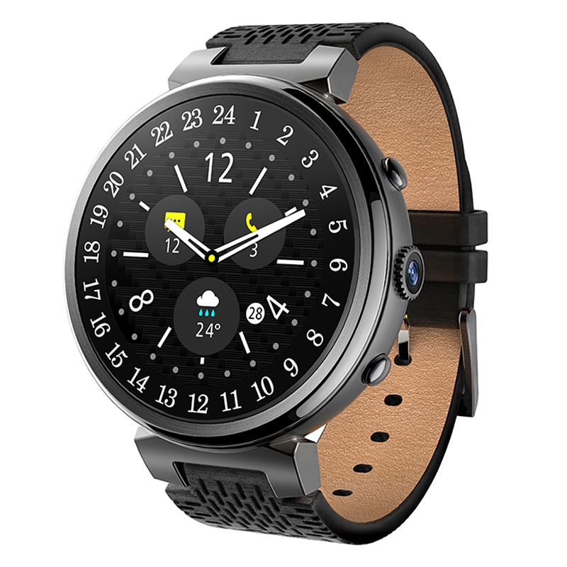 цена на 2017 New I6 Smart Watch 2MP Camera 2GB/16GB MTK6580 Android 5.1 Bluetooth GPS WiFi 3G Smartwatch Phone For Android&IOS VS LEM6
