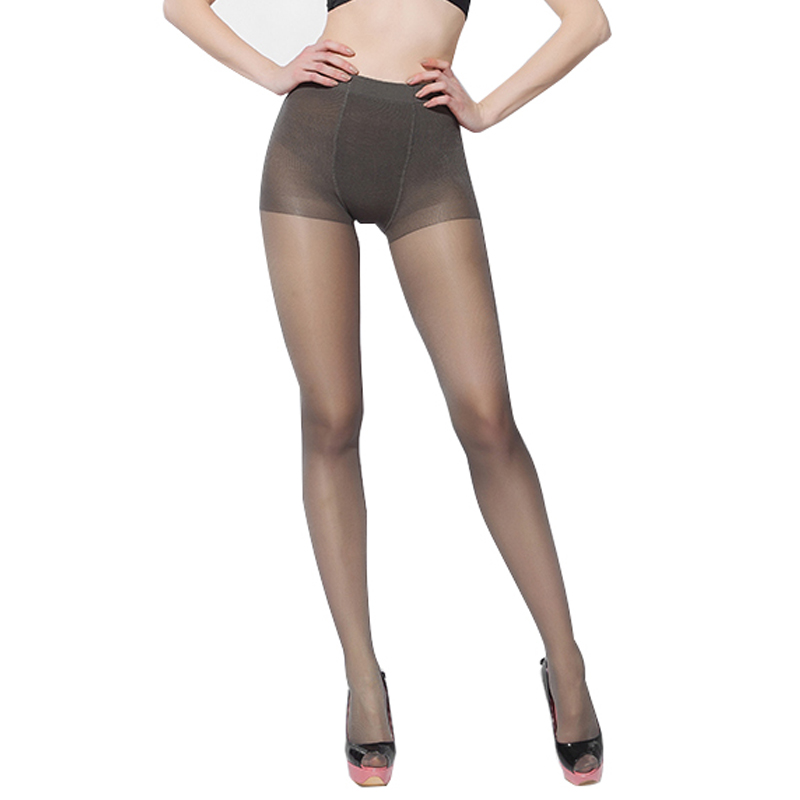 2726eb40bb1 Super Elastic Magical Stockings New Women Seamless Sexy Black Thin  Pantyhose Ladies Tights Stocking Sheer Mesh Collant 6012 40D-in Tights from  Underwear ...