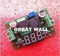 1 pcs LM2596 DC 4.0 ~ 40 a 1.3-37 V Ajustável Step-Down Power Module + LED voltímetro DC/DC