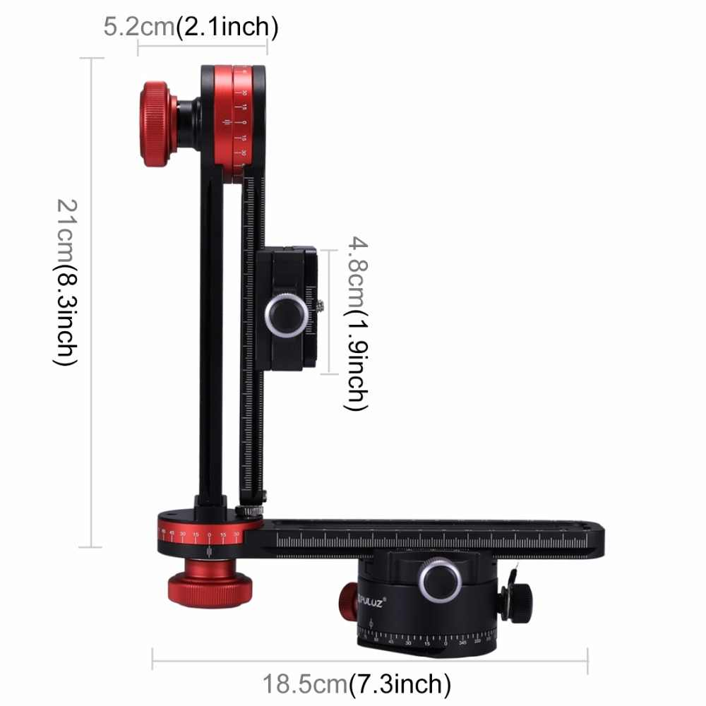 Teng AYSMG 720 Degree Panoramic Aluminum Alloy Ball Head Quick Release Plate Kits