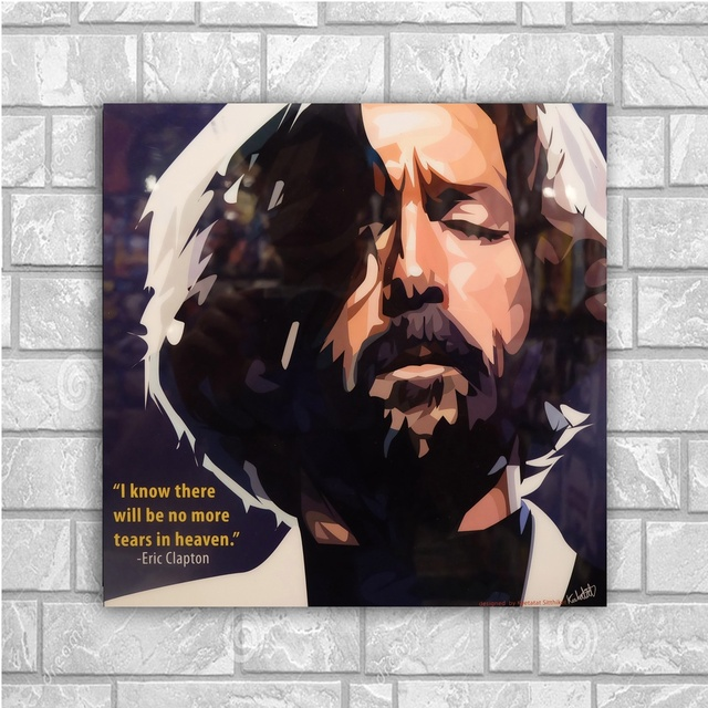 Eric Clapton Life In 12 Bars 24x36inch Silk Poster Wall Decoration