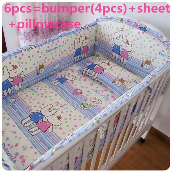 discount 6 7pcs baby bedding sets crib cot bassinette cot bedding set 120 60 120 70cm Promotion! 6/7PCS  100% Cotton Cot Bedding Crib Sets Crib Bedding Sets Baby Bedding Set  ,120*60/120*70cm