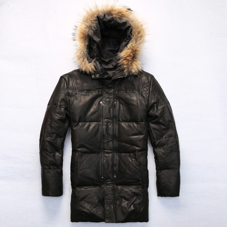 Popular Leather Jacket Fur Hood-Buy Cheap Leather Jacket Fur Hood