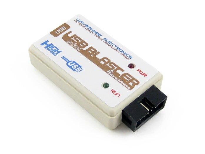 2pcs lot USB Blaster V2 Download Cable ALTERA FPGA CPLD USB Blaster Programmer Debugger for Altera