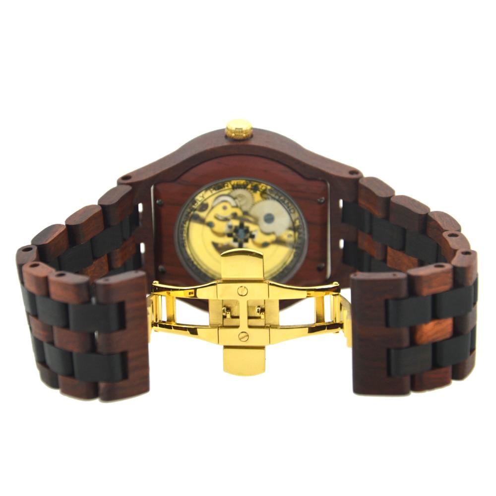 BEWELL Casual Top Luxury Brand Men Relojes Mecánicos Reloj de - Relojes para hombres - foto 5