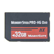 메모리 스틱 MS 프로 듀오 메모리 카드 hx 소니 psp 액세서리 8 기가 바이트 16 기가 바이트 32 기가 바이트 전체 실제 용량 게임 사전 설치