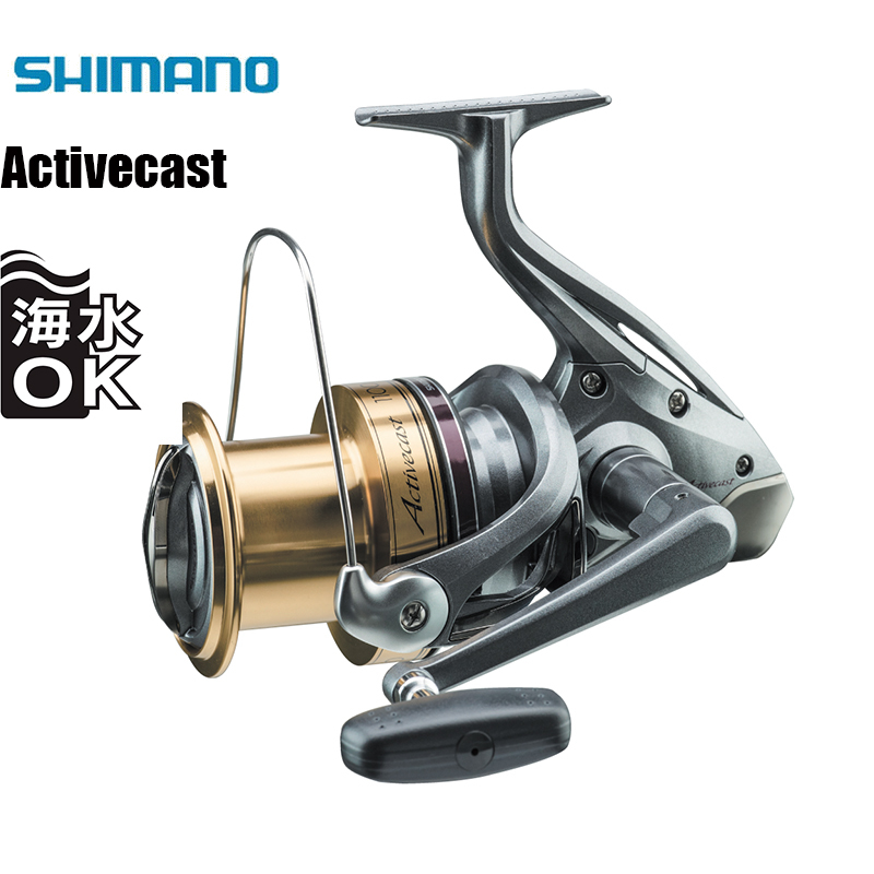 SHIMANO ACTIVECAST Surfcast Reel 1050 1060 1080 1100 1120 4+1BB 6.0/6.2/6.4 Fishing Reel Saltwater Beaches Spinning Fishing Reel
