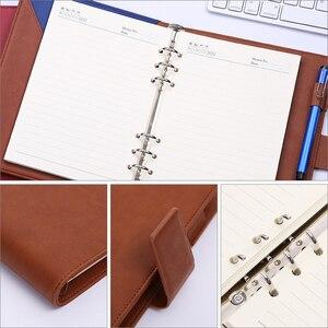 Image 4 - Cahier à feuilles amples, fournitures de bureau, Notes de réunion, Notes de collège, agenda des étudiants, A5, cahier amovible