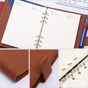 Image 4 - Loose leaf Notebook Office Supplies Meeting Notes College Student Diary A5 Detachable Notebook