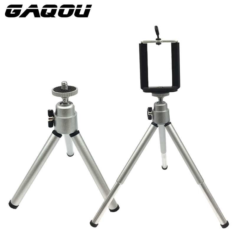 GAQOU prenosni mini stativ za iphone 6s 7 Samsung z mobilnim - Kamera in foto