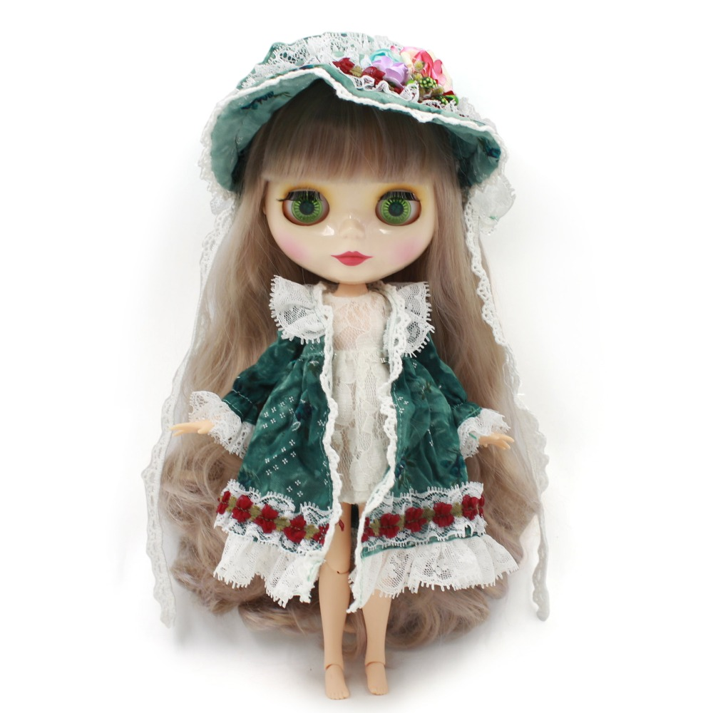Neo Blythe Doll with Multi-Color Hair, White Skin, Shiny Face & Jointed Body 2