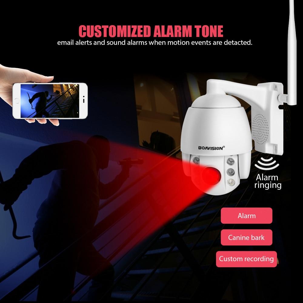 HTB15yJjeBCw3KVjSZR0q6zcUpXaD Super Mini 2.5 Inch PTZ Speed Dome WIFI IP Camera 1080P Outdoor 5X Zoom / 4mm Fixed Lens Wireless Camera IR 60m Two Way Audio