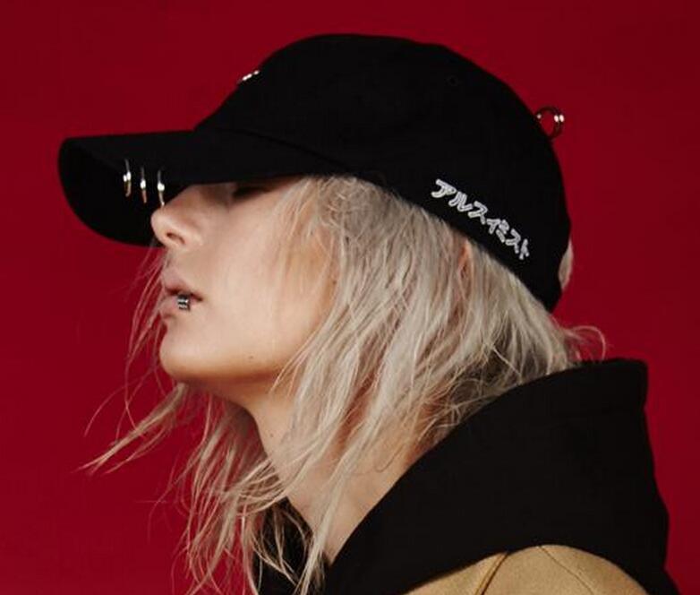 2016 Gd Super Fashion Hoop Baseball Cap Hip Hop Concert Hats Men Women Sun Cap adjustable Art Korean Style Caps
