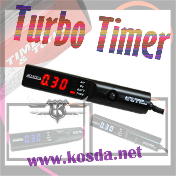 Универсальный цифровой Авто Turbo таймер с Красный светодиодный цифровой Дисплей свет