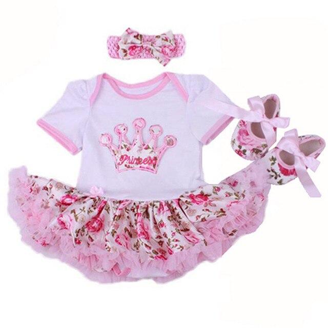 b88c2147b 2019 Primer Cumpleaños De algodón recién nacido ropa De bebé niña vestido  fotografía apoyos De fotografía