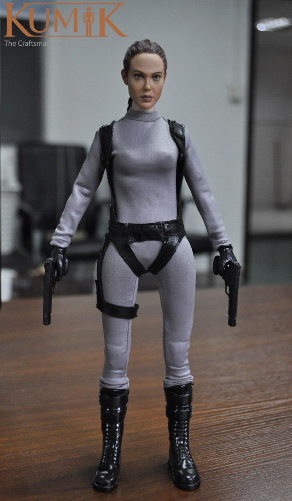 KUMIK 1/6 Scale Doll Model Angelina Jolie in Lara Croft: Tomb Raider,12 action figure doll,Collectible Figure toy lara croft and the temple of osiris xbox one [digital code]