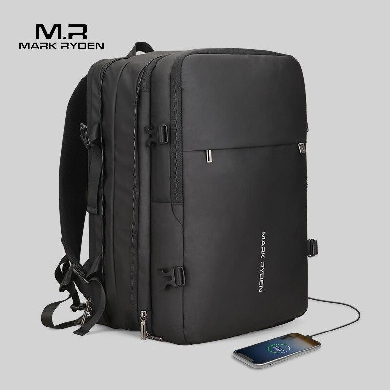 Mark Ryden Man рюкзак подходит 17 дюймов ноутбук USB подзарядка многослойная космическая дорожная мужская сумка Анти-Вор Mochila