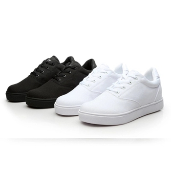 Kids Sneakers with Wheels Heely High Quality HCanvas Boys Roller Shoes One Wheel Youth Trend Breathable Casual Sport Trainer