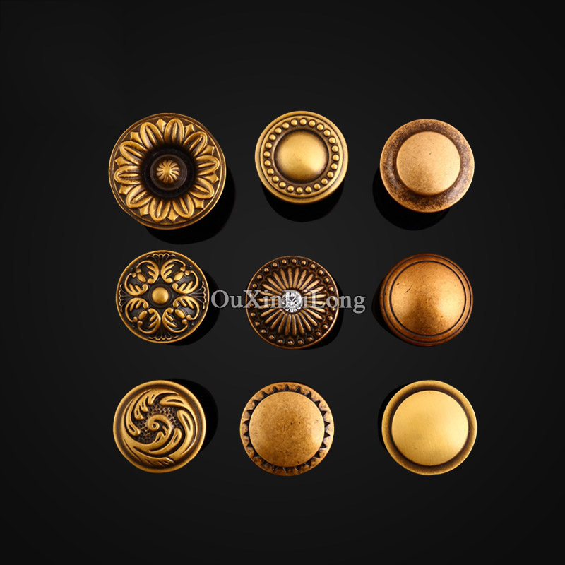 Top Quality 10PCS Furniture Handles European Rural Pure Brass Drawer Wardrobe Cupboard Kitchen Cabinet Door Pulls Handles Knobs contemporary chinese for beginners series exercise book chinese russian edition