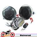 12 v 2x20 w Alto-falantes de Controle Remoto de Alarme Da Motocicleta mp3 Player Alto-falantes Amplificador de Áudio Estéreo De Rádio FM Moto à prova d' água