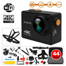 BOBLOV 4K HD 8MP 2.0″ LCD WiFi Waterproof Sports Action Camera Video Camcorder + 44pccs Accessories Kits For Android IOS