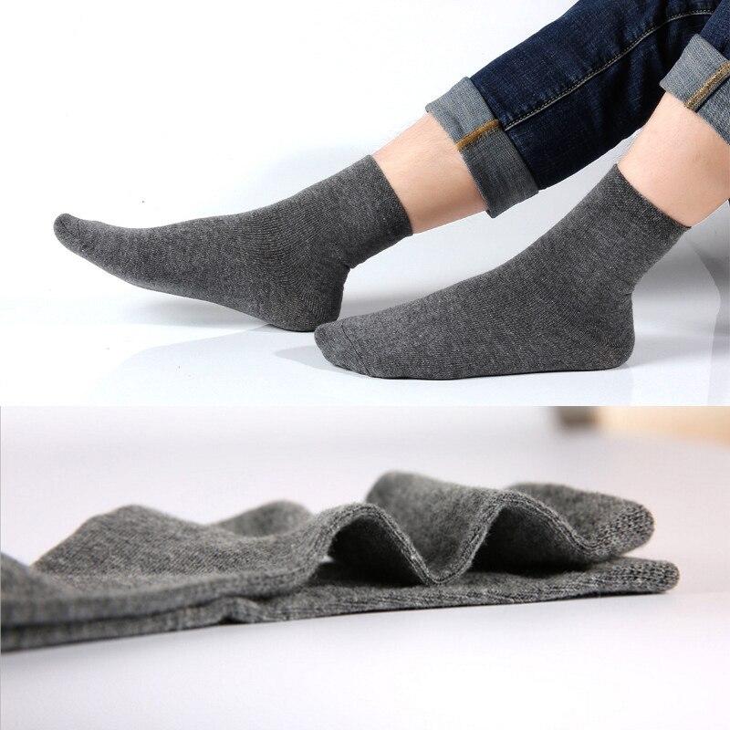 Ankle Socks Men Cotton Comfortable Men Socks Summer 1/2/5 Pairs Boys Breathable Antibacterial Bussiness