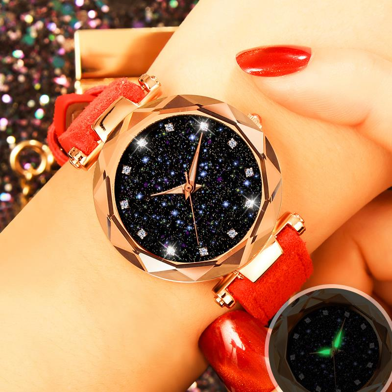 Strap Watch Clock Quartz Stainless-Steel Hot-Sale Unique Casual New-Fashion Luxury Women