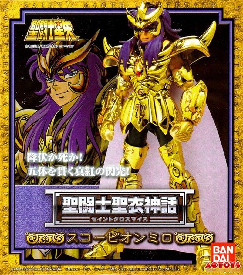 Free shipping Bandai Saint Seiya Cloth Myth Gold Scorpio MiloFree shipping Bandai Saint Seiya Cloth Myth Gold Scorpio Milo