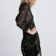 5edaaa42c7e9 2019 SPRING za Semi-sheer Women za FLORAL AND POLKA DOT PRINT dresses  vestidos Women