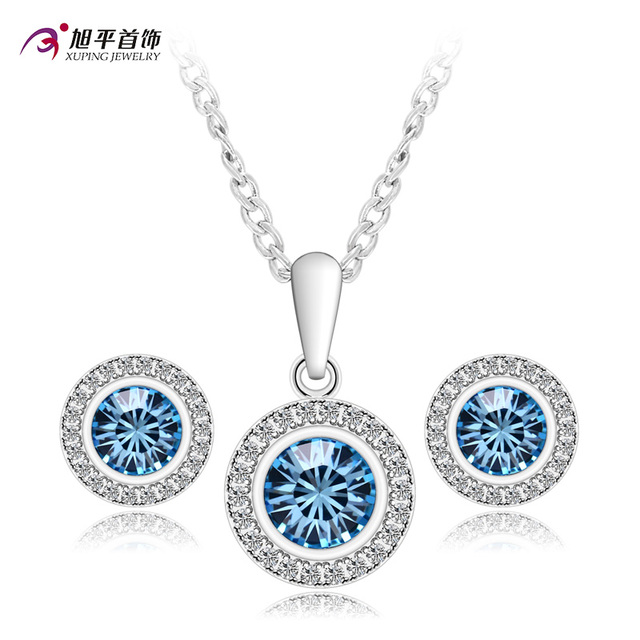 477a7f92f Xuping Luxury Set Fashion Jewelry Sets Popular Color Plated Crystal from  Swarovski Charm High Quality Party