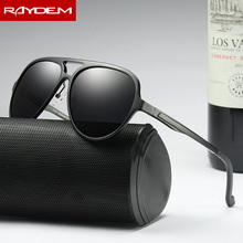 2017 Direct Selling Top Fashion Raydem Brand Polarized Men's Vintage Sunglasses Frame Sun Glasses Men Eyewear Accessories For