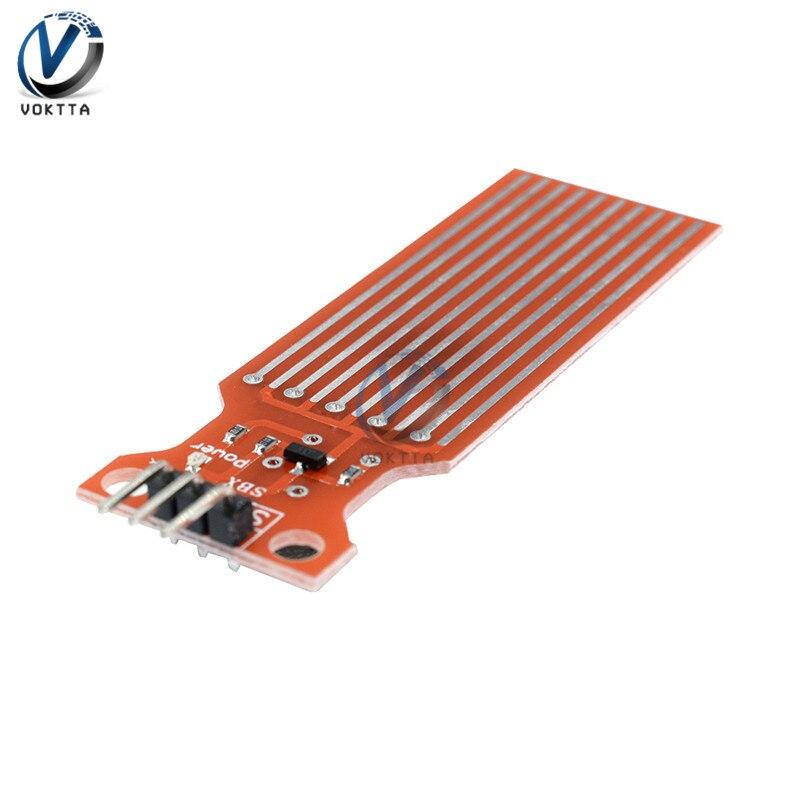 5pcs/lot Rain Water Level Sensor Module Depth Of Detection Liquid Surface Height For Arduino
