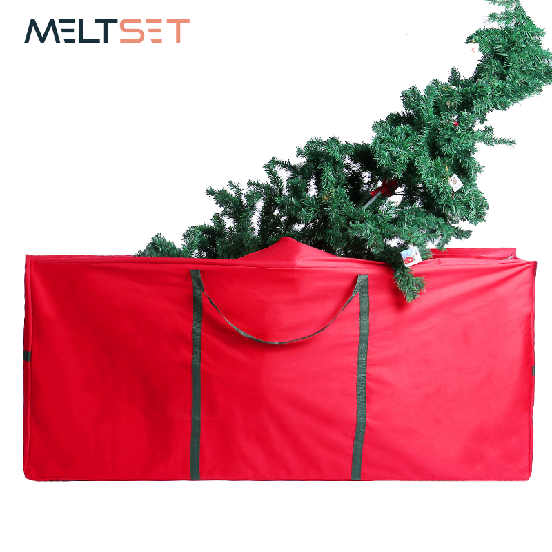 Christmas Tree Bags.Us 22 49 40 Off Strong Thickend Fabric Christmas Tree Bag Extra Large Jumbo Size X Mas Tree Storage Bag Folding Christmas Decoration Organizer In