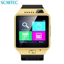 Bluetooth Montre Smart Watch Montre-Bracelet Téléphones Intelligents Numérique sport montres pour IOS Android Samsung téléphone Portable Electronic Device