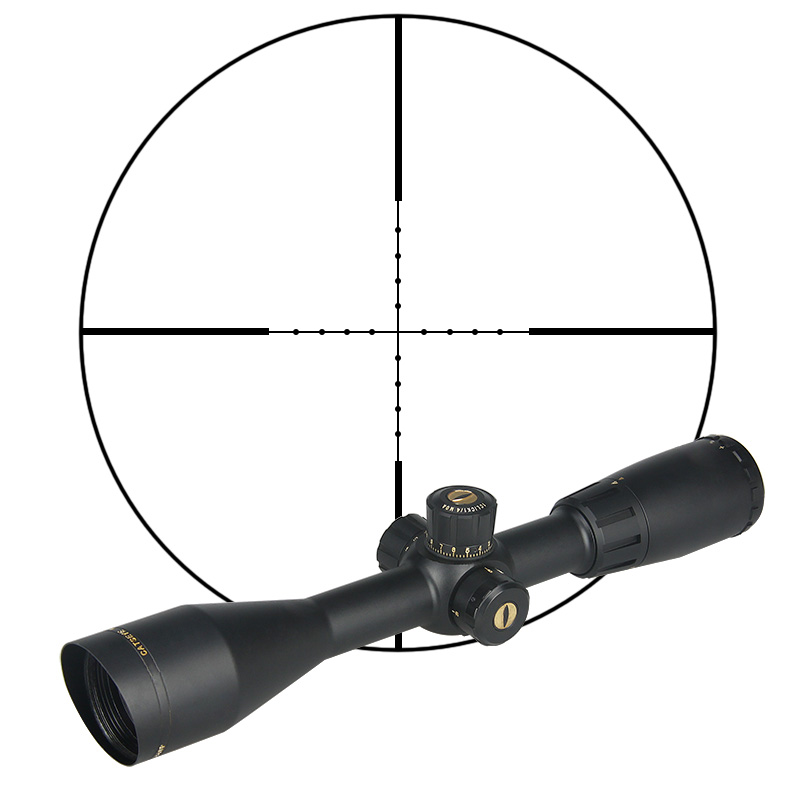PPT Tactical CAT4-16x44 SP Side Focus Rifle Scope 335mm For Hunting Of Airsoft Gs1-0312