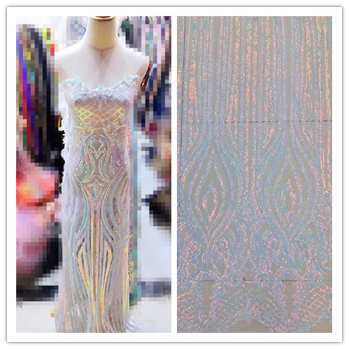 Fashion African French lace fabric embroidery cord lace fabric JIANXI C 6504 with top grade tulle