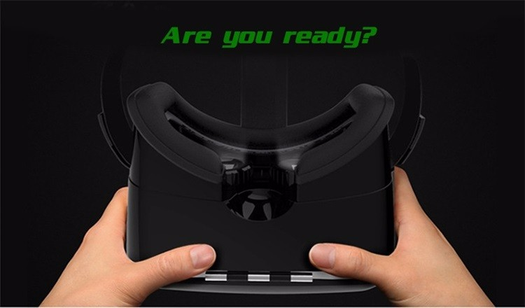 18 Original Shinecon VR Pro Virtual Reality 3D Glasses Headset VRBOX Head Mount Google Cardboard Helmet For Smartphone 4-6inch 12