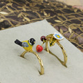 Bird Flower Ring Sets For Women Lady All-match Party Jewelry High Quality