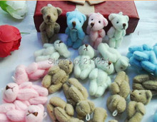 60pcs teddy bears,cartoon animal Ted bouquet,wedding Birthday gift pendant,children boys girls baby shower party gifts,no String