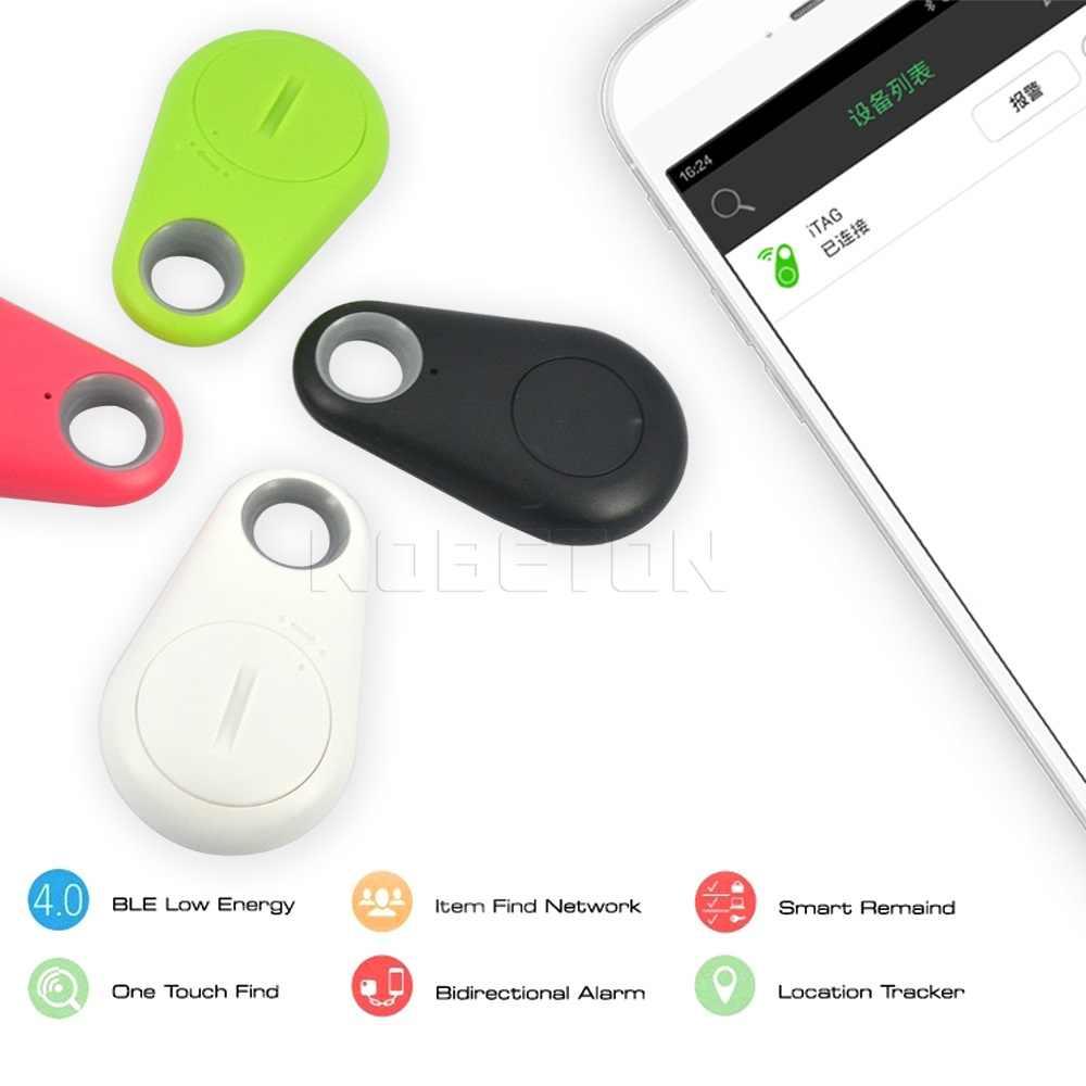 Sikeo スマート Bluetooth トラッカーロケータタグワイヤレスアンチロストアラームリマインダー財布キーキーホルダーファインダーアンチロストトラッカー 4 色