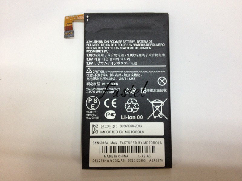 New EG30 Mobile Phone Battery For Motorola Droid RAZR M XT907 Droid RAZR i XT890 XT902 XT905 XT980 MXT901,Free Tools,2000mAh