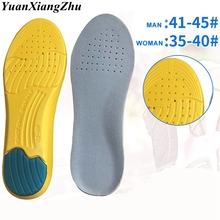 1Pair Sport Insoles Memory Foam Mezzanine Insole Sweat Absorption Pads Running Sport Shoe Inserts Breathable Insoles все цены