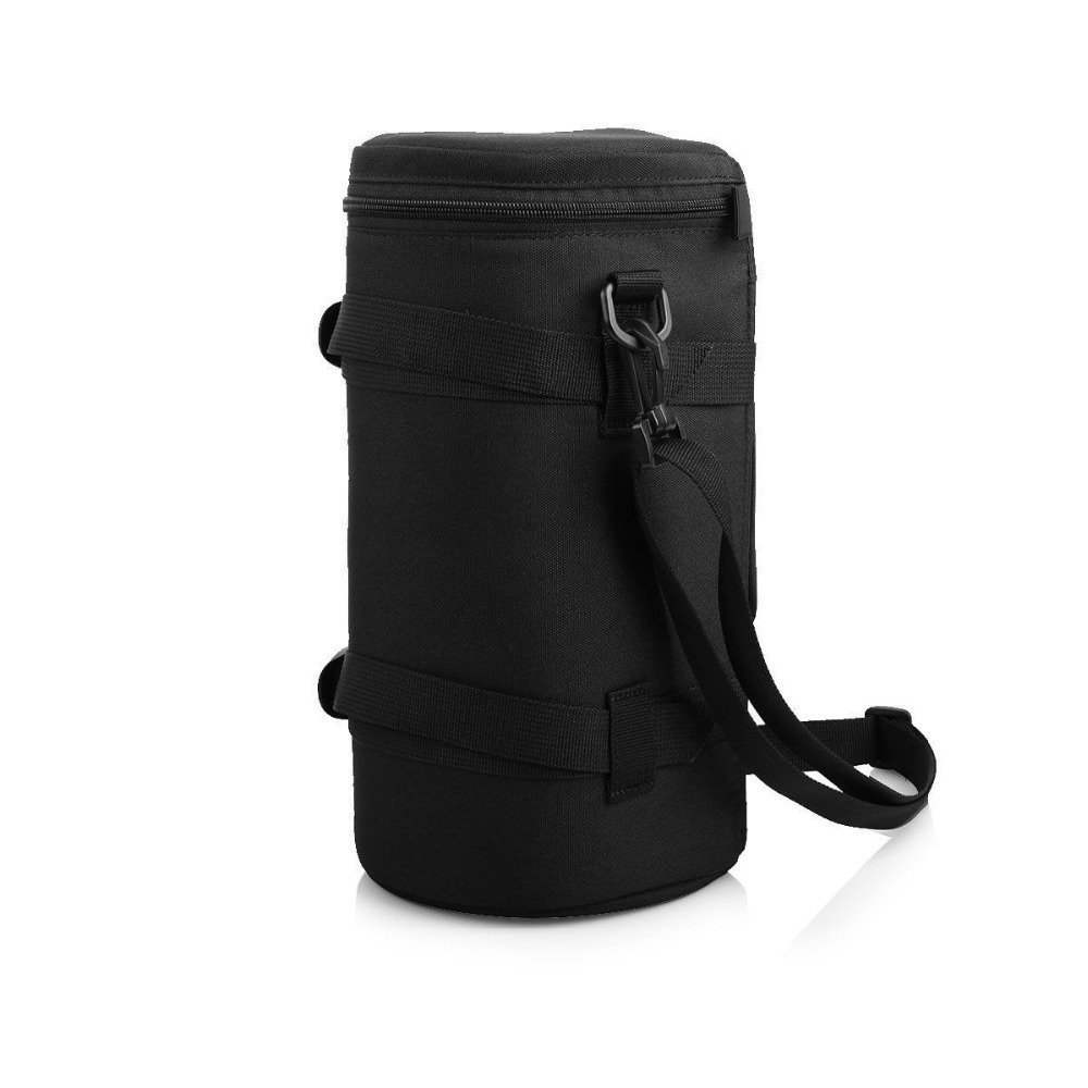 30 13cm Waterproof Camera Lens Bag Soft Video Camera Lens Pouch Bag Case Canon Sony Lens Bag Protector With Shoulder Belt Durabl in Storage Bags from Home Garden