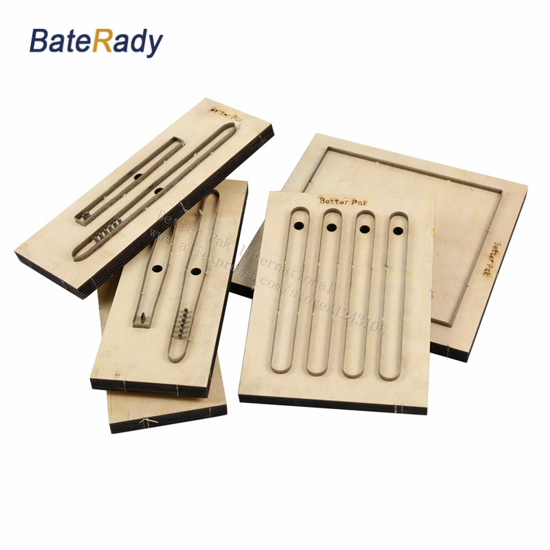 BateRady Customized leather shape laser punch die,Japan Steel Blade PVC/EVA sheet cutter mold,DIY Watch belt Leather cutting die
