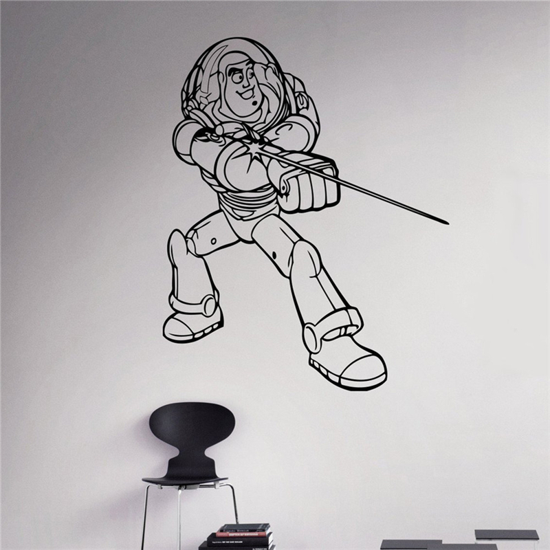 Superior Ordinary Buzz Lightyear Wall Mural Part 22