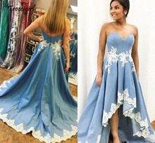 Tulle Appliques Party Gown Back Lace Up Evening Dresses Off The Shoulder Robe De Soiree