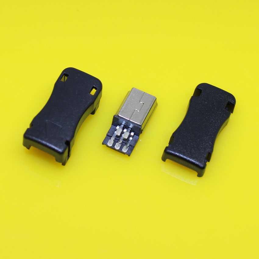 Ma-010 DIY USB 5P 5Pin Plug OTG Mini B USB 5Pin 3 in 1 for mini usb jack sockect