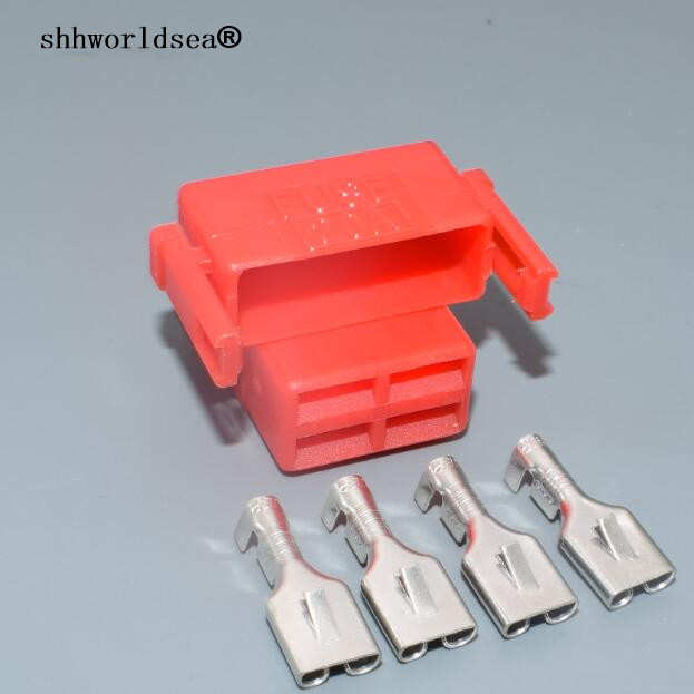 shhworldsea fuse box 4 pin female harness connector. Black Bedroom Furniture Sets. Home Design Ideas