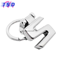 Car Accessories Key Chain Key Ring Metal Key Holder Auto Styling Keychain For S Logo For